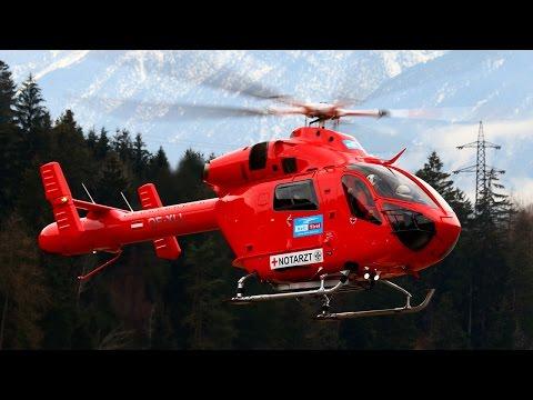 Heli arrivals -
