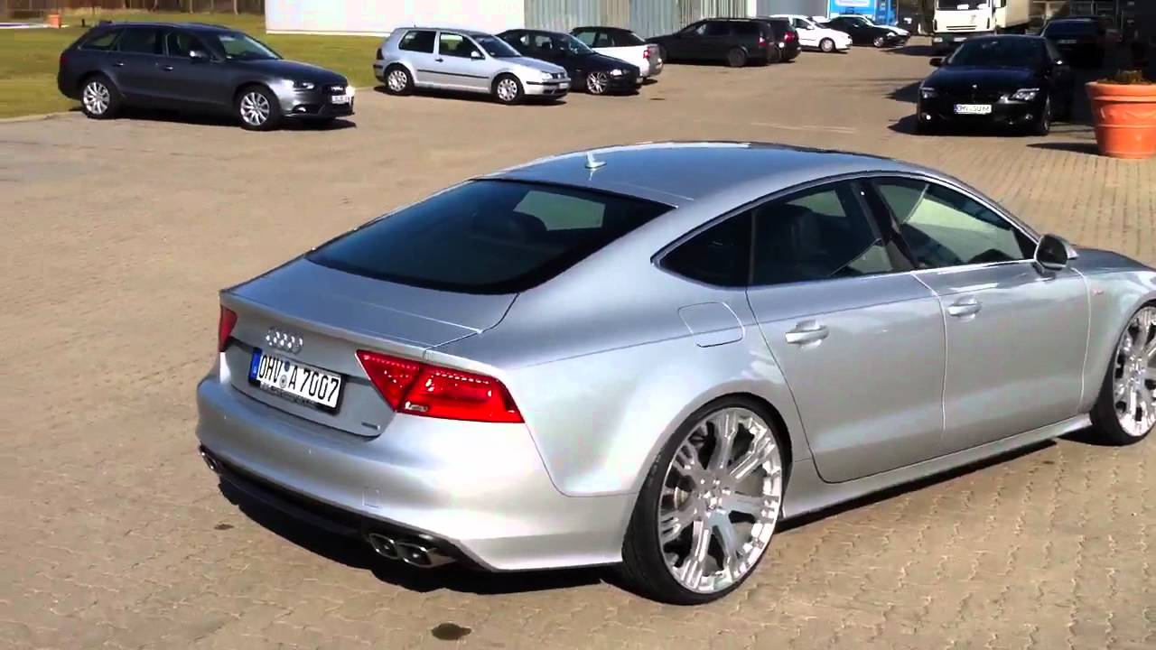 2012 Audi A7 In Rs Optik By Supersport De Youtube
