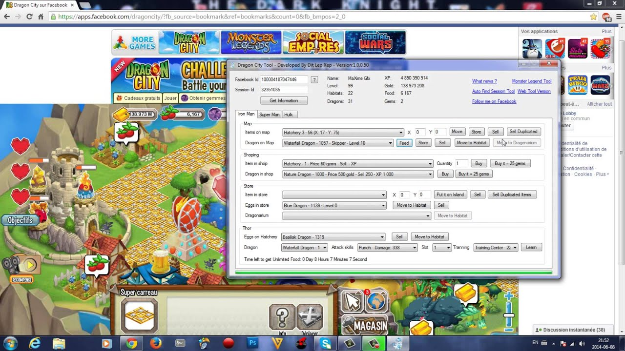 Dragon city hack how to hack dragon city unlimited gems for.