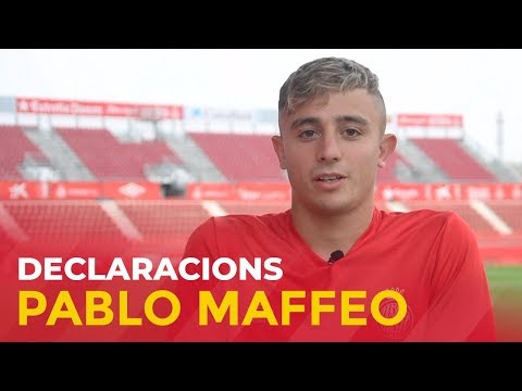 "Pablo Maffeo: ""Sempre seré un gironí més"""