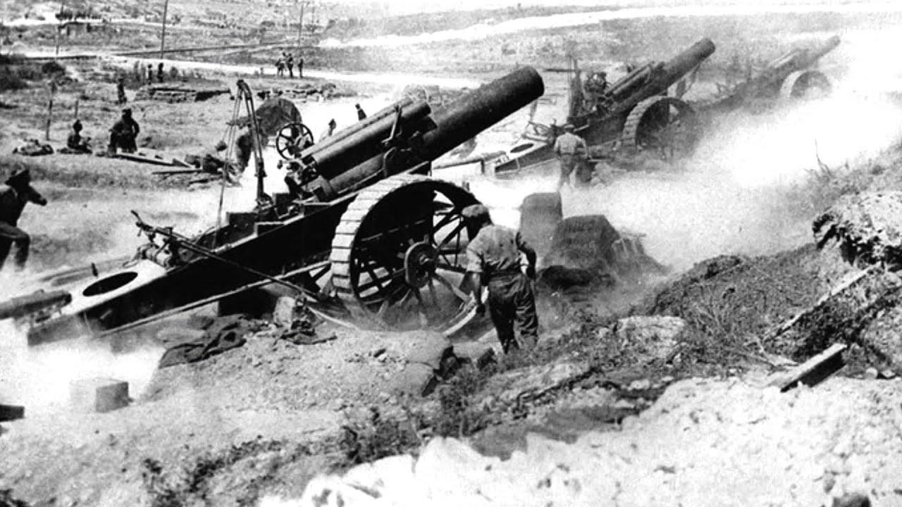 Artilleryman during the first world war