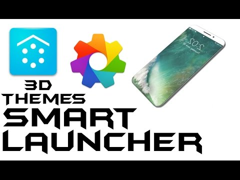Smart Launcher | Customize Your mobile with 3d themes - YouTube