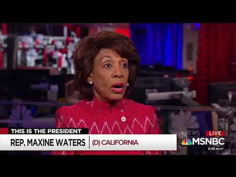 Maxine Waters claims '70 percent of women' want Trump impeached