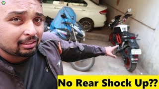 STATUE OF UNITY to Mumbai | Riding 400Kms on a Damaged Rear Suspension | NEVER DO THIS !!!