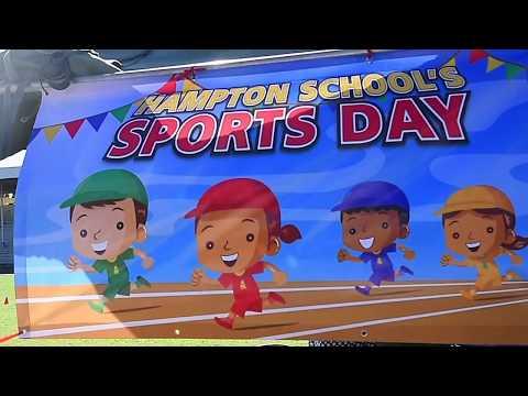 Hampton School Sport Day 2017 Highlights