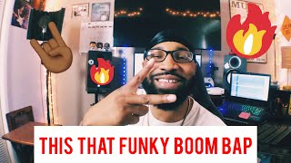 this that funky boom bap!! (making a boom bap hip hop beat)