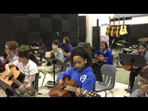 POMS Guitar Seven Nation 5th Period