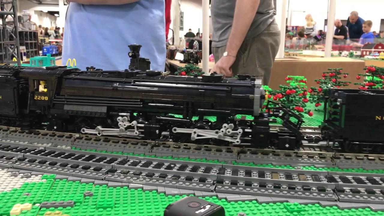 Brick Model Railroader LEGO Tank Car Instructions Haul - YouTube