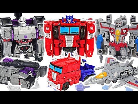 Transformers Cyberverse Optimus Prime VS Megatron!! #DuDuPopTOY