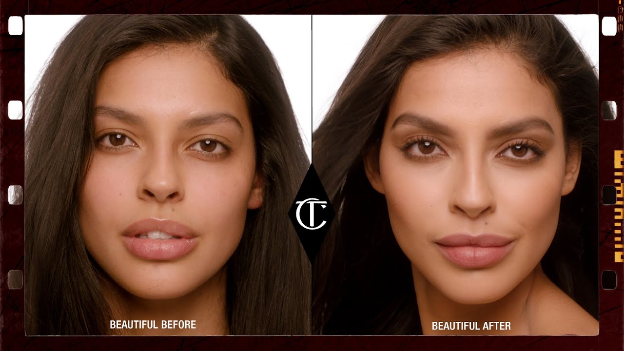 How To Get The Super 90s Makeup Look Charlotte Tilbury YouTube