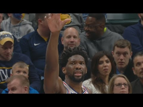 Embiid 22 Pts Chase Down! 76ers Blowout Pacers! 2018-19 NBA Season