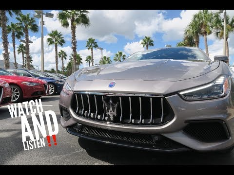 FIRST DRIVE! 2019 Maserati Ghibli S GranSport!