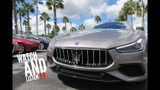 FIRST DRIVE! 2019 Maserati Ghibli S GranSport!