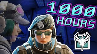 What 1000 HOURS of ZOFIA Experience Looks Like - Rainbow Six Siege