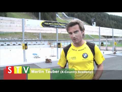 Cross Country Academy E-Bike Skiroller Biathlon Se...