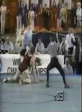 1985 NCAA finals Duane Goldman (Iowa) vs Chaid (Oklahoma)