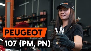 How to replace Spark Plug on PEUGEOT 107 - video tutorial