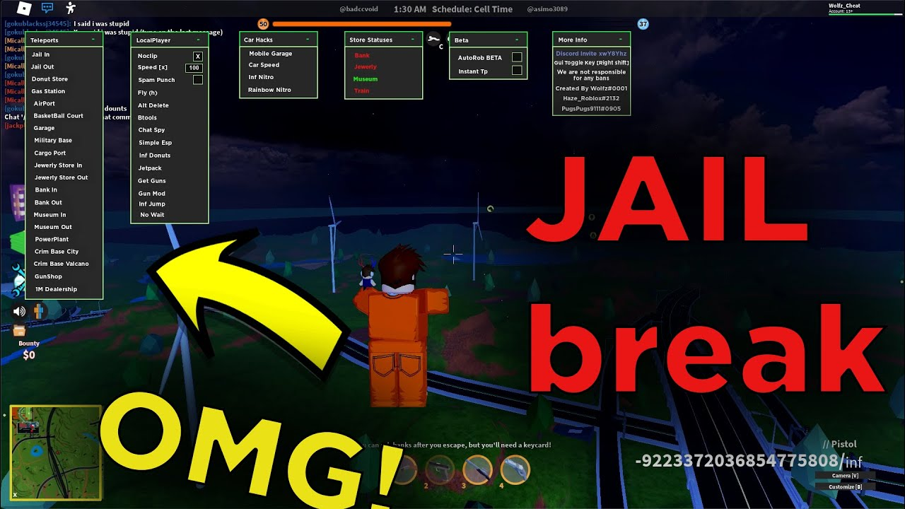 Roblox Jailbreak Hack Script June 2020 Autorob Autoarrest