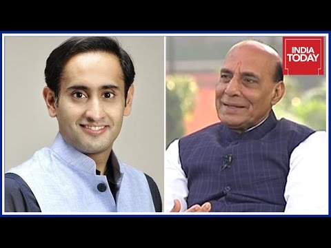 Home Min, Rajnath Singh Exclusive Interview On Big U.P Polls | Rahul Kanwal