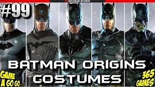 #99 - Batman: Arkham Origins - Veja todos os Trajes / Costumes do game!