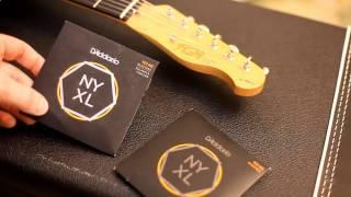 Дмитрий Андрианов - Обзор струн D'Addario NYXL Balanced Tension