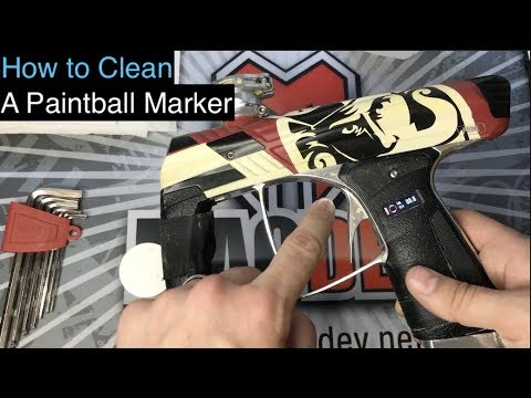 How To Clean Your Paintball Marker