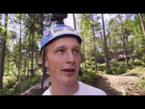 Høyt & Lavt Klatreparker 10 parker på 10 dager,  Dag 2  Kristiansand