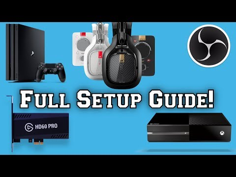 How To Setup MixAmp TR Pro + Setup In Game Party Chat On Xbox One / PS4 | OBS Studio