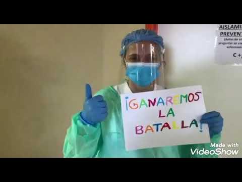 Vídeo del personal de la Planta 5 del Meixoeiro, medicina interna