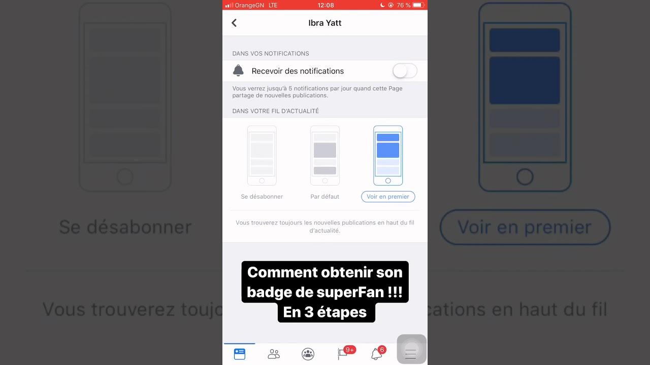 Comment Avoir Le Badge Super Fan Sur Facebook
