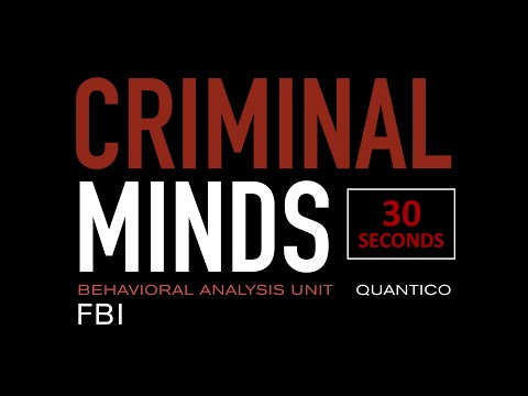 A.J Cook - Criminal Minds in 30 seconds