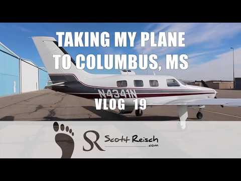 Vlog 19: Taking My Plane to Columbus, MS