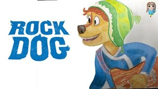Боуди из мультфильма Рок Дог. Ускоренное видео. Kazyava Art
