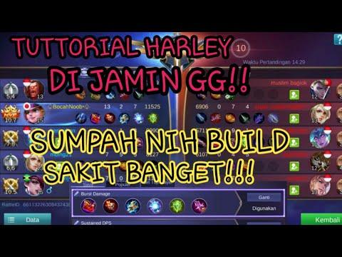 TUTORIAL HARLEY (BELAJAR HARLEY 14 MENIT) DI JAMIN GG, BUILD NYA SAKIT BANGET!!