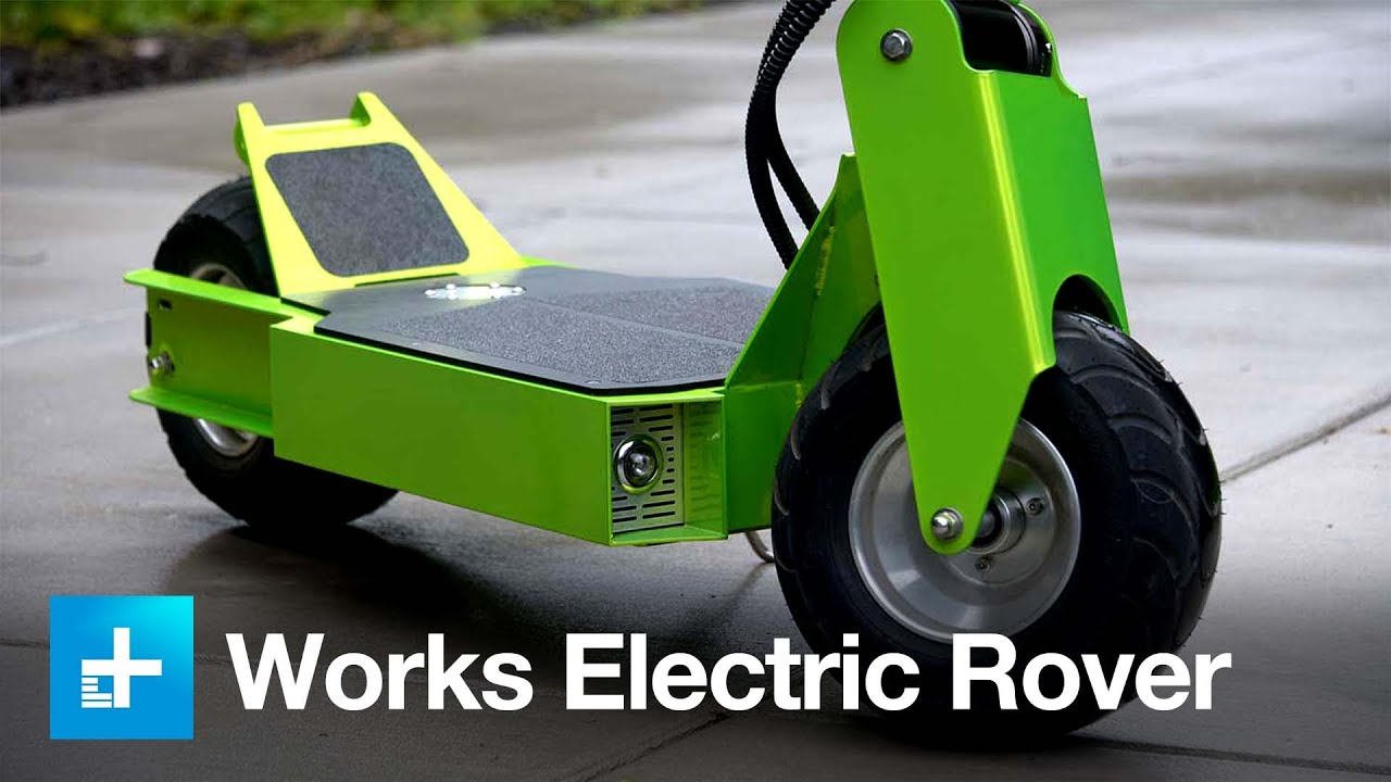 There Is Such A Thing As Bad Scooter And Works Electric Calls It The Rover