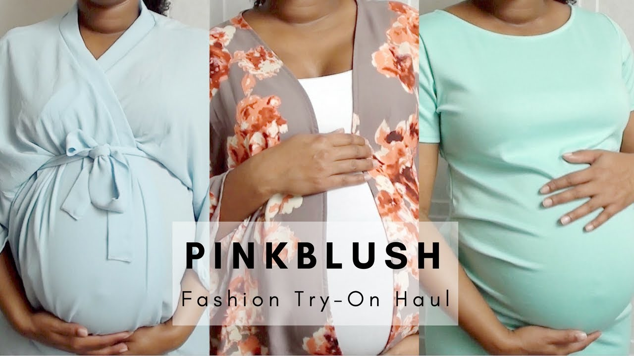 b3888eecc0c84 PinkBlush Fashion Try-On Haul | Maternity Style - YouTube