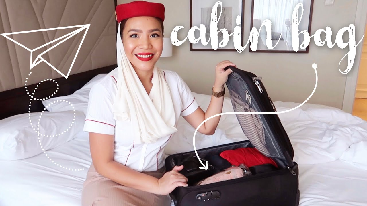 Emirates Cabin Crew In Lisbon What S In My Cabin Bag Youtube