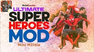 Mini Militia Hack - Superheroes Mod