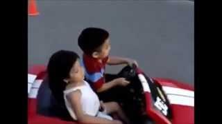 Детская версия популярного клипа