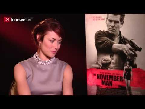 Interview Olga Kurylenko THE NOVEMBER MAN
