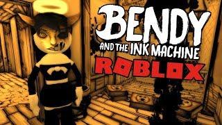 Bendy y la máquina de tinta CAPíTULO 3 en ROBLOX!