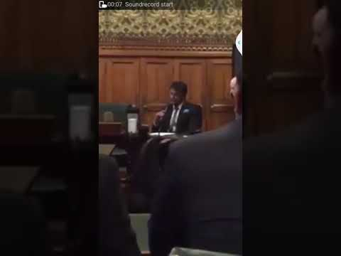 Darshan Thoogudeep Receiving 'Global Diversity' Award From British Parliament, London