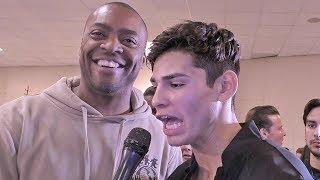 Ryan Garcia REACTION Canelo DESTROYS & KNOCKOUT vs Rocky Fielding