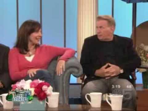 West Wing Cast on Ellen
