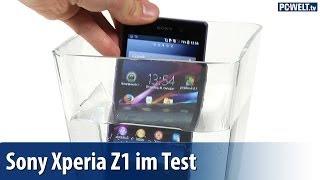 Wasserdicht: Sony Xperia Z1 im PC-WELT-Test | deutsch / german