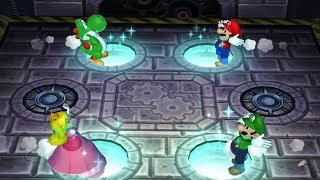 Mario Party 9 - All Mini Game Battles - Yoshi Vs Mario Vs Peach Vs Luigi (Master CPU)