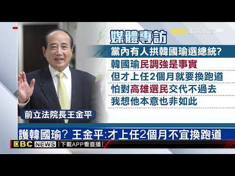 只當一任總統「交棒」給下一代?王金平搭韓流?