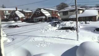 2014 blizzard of BUFFALO NY.