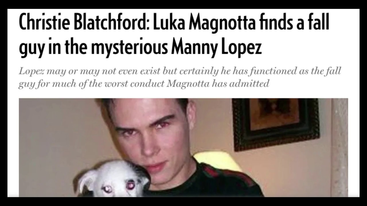 luka magnotta and manny