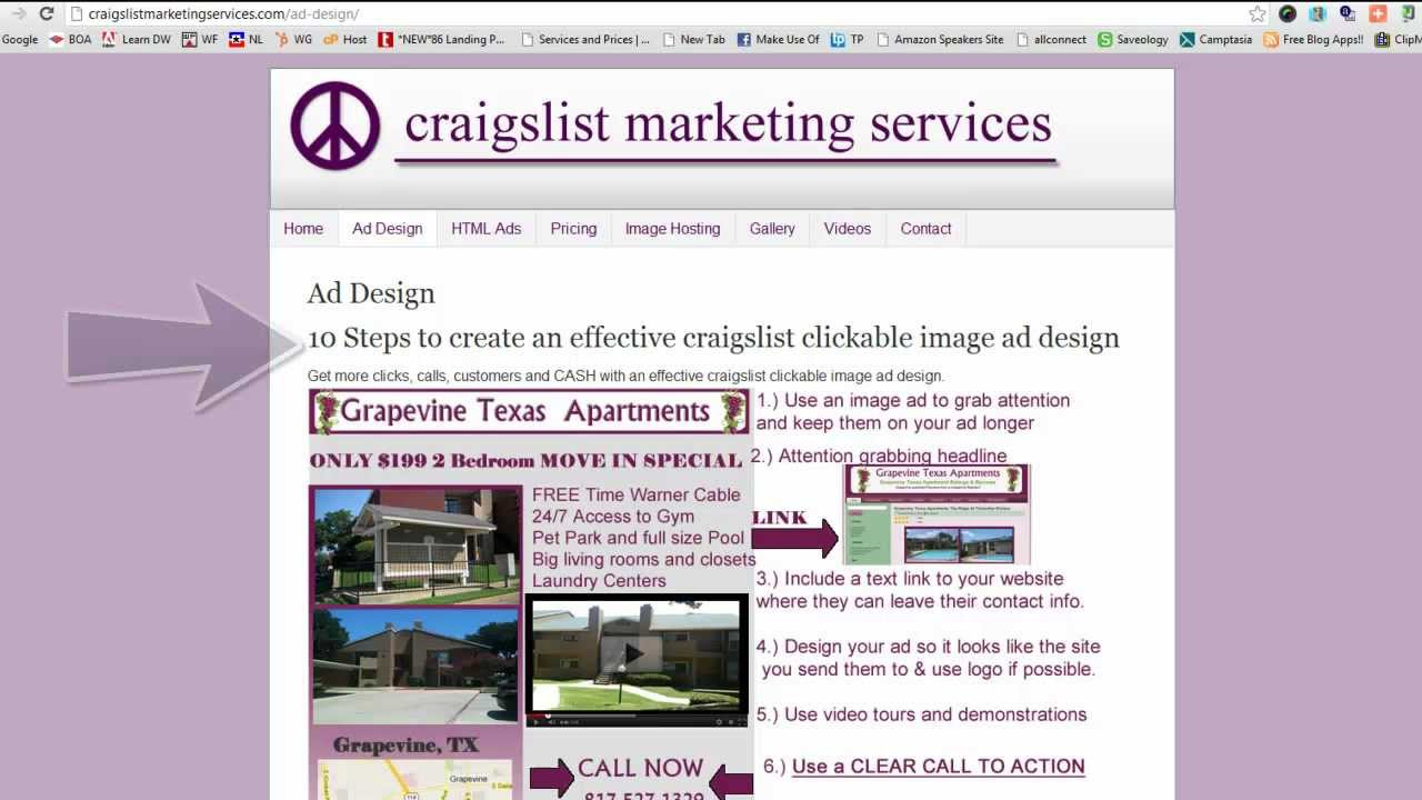 10 steps to create an effective craigslist html clickable image ad design